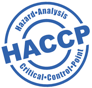 Logo for HCCP: Hazard Analysis Critical Control Point Certification